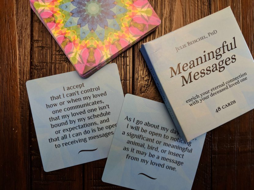 Can The Meaningful Messages Card Deck Help You Become Psychic at Bedtime?