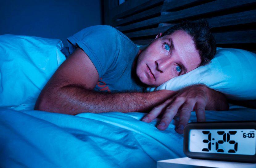 Man who woke up too early